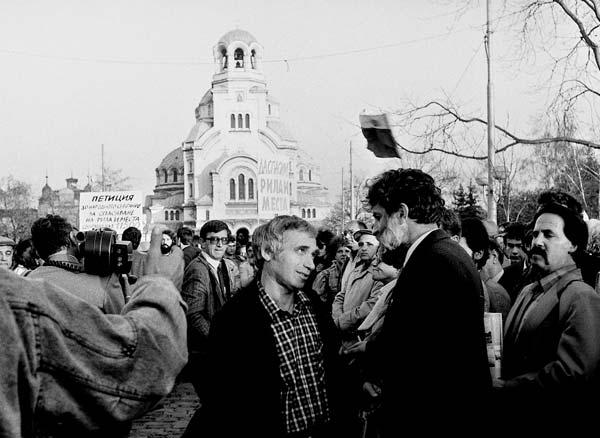 3 ноември 1989 г., шествие на движение