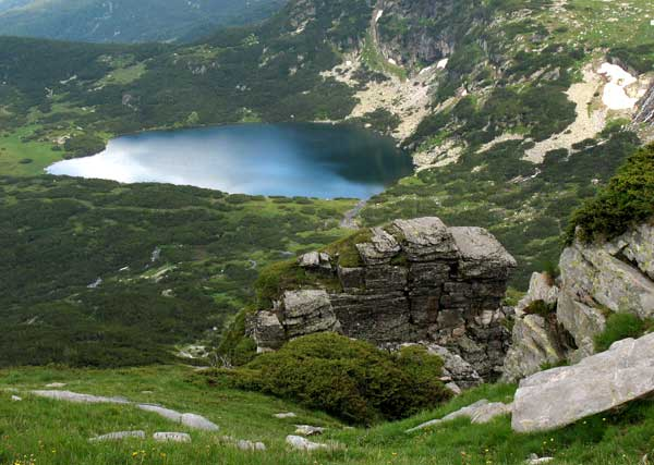 Най-долното от 7-те рилски езера. Снимки: Иван Бакалов