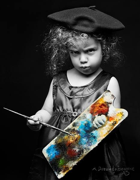 """""""Една мечта да бъде..."""" - фотограф - Диляна Флорентин, художник - Анна Панайотова"""
