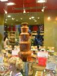 Шоколадов фонтан в Брюксел. Снимка: Вихрен Стоев