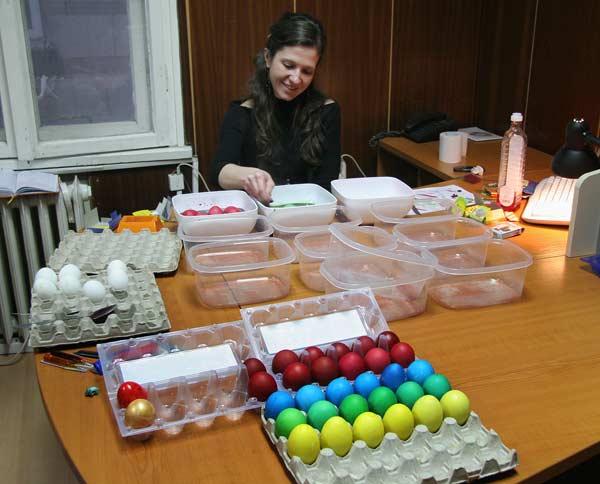 Момент от експеримента в редакцията. Снимка: e-vestnik