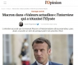 Макрон унижава българите, а у нас лъжат с превода на думите му, за да го оправдават