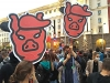 За протеста от очевидец: Обединени от две единствени искания – оставка и затвор за Бойко Борисов и Гешев