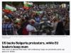 Политико: САЩ подкрепят протестиращите в България, докато лидерите на ЕС остават безмълвни