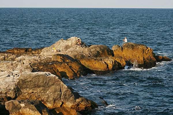 Скали край Камен бряг. Снимки: Нели Томова