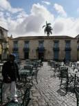 Кафене на площадче в Хавана. Снимки: авторът