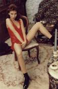 Из фотосесия за еротично списание. Снимка: личен сайт на Асламова