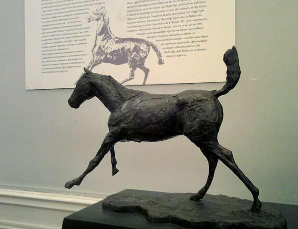Скулптура на Дега от изложбата в София. Снимка: e-vestnik