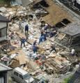 Част от разрушенията в Кашивазаки. Снимка: Ройтерс