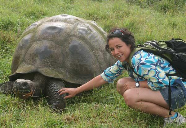 Костенурка на островите Галапагос, Еквадор. Снимка: Личен архив