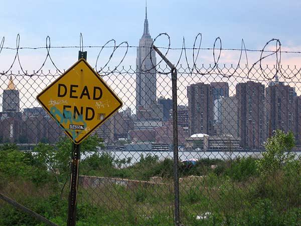 Изглед от Бруклин към Манхатън, Ню Йорк. Снимка: Евгения Волен
