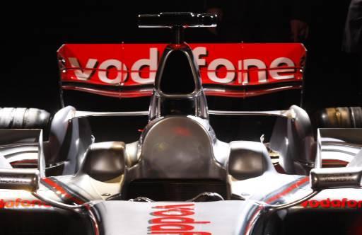 Koкпитът на новия  Макларън Мерцедес  MP4-23 Formula One по време на презентация в Щутгарт преди новия сезон на Формула 1. Снимка: Ройтерс
