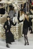 """Колекция есен-зима 2008/09 на модна къща """"Шанел"""". Снимка: Ройтерс"""