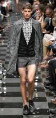 """Колекция пролет-лято 2010 на """"Прада"""" на Седмицата на модата в Милано. Снимка: Ройтерс"""
