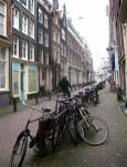 Улица в Амстердам. Снимки: авторката