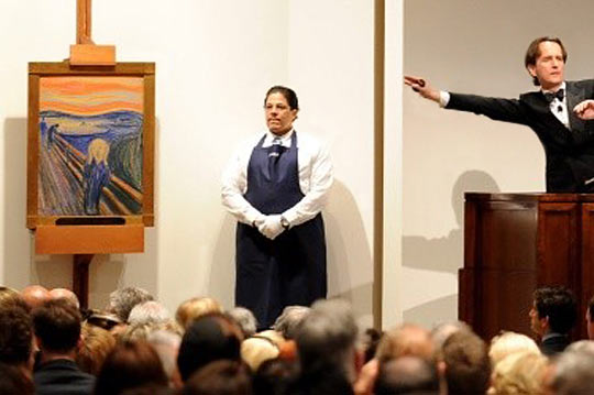 Рекорд - картина продадена за 120 млн. долара