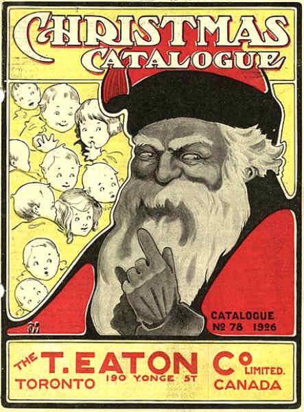 Дядо Мраз като безплатно рекламно лице