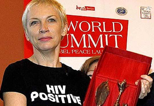 Ани Ленъкс - Жена на мира за 2009