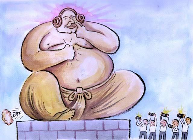 Буда-Бойко - една от малкото карикатури