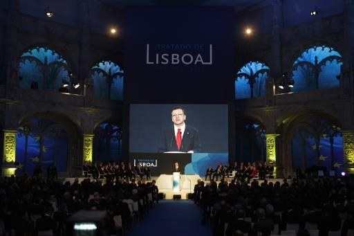 Подписването на Лисабонския договор