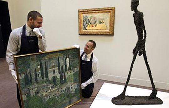 Скулптура продадена за 75 млн. евро - рекорд за изкуство на търг