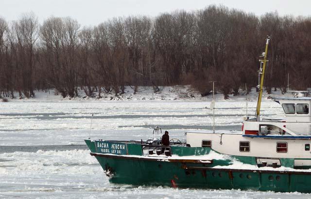 Ледът по Дунава