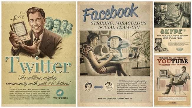 Интернет през 50-те години...