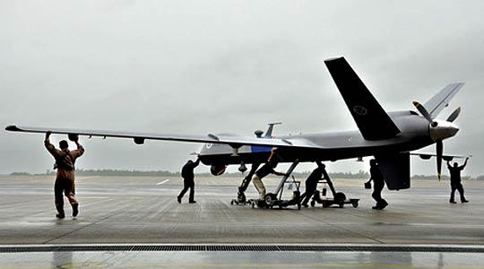 Самолет шпионин без пилот - Погледът на Горгона