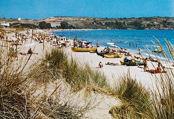 Плажът на Каваците 1960