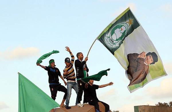 Привърженици на Кадафи