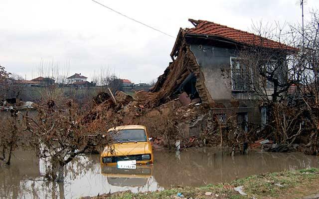 След наводнението в село Бисер