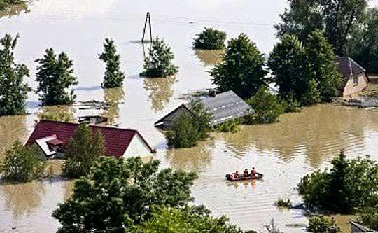 Наводнение в Полша