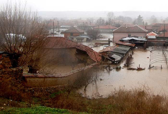Наводнението в Харманлийско