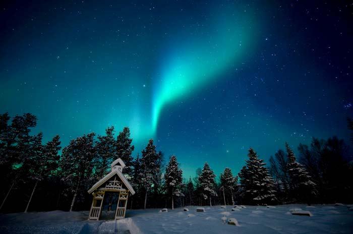Северно сияние в Норвегия