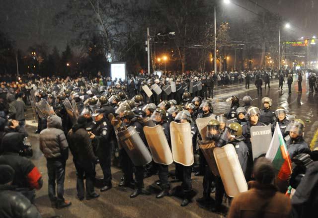 Протестите на 19 февруари в София
