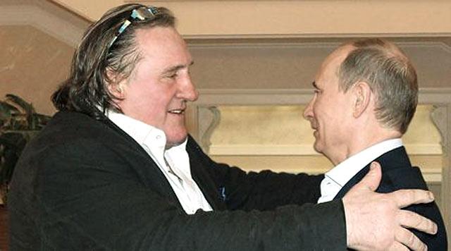 Путин дава паспорта на Жерар Депардийо