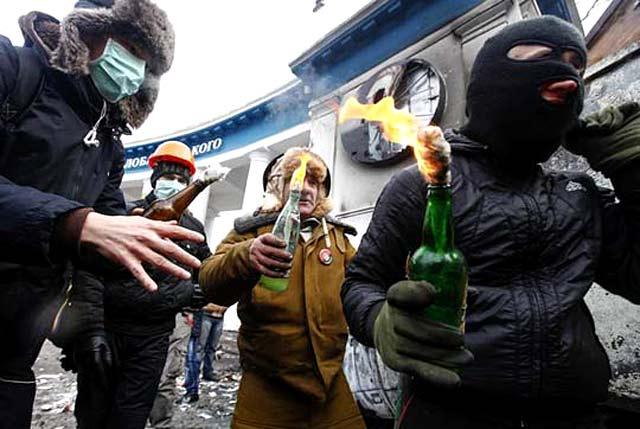 Войната на площада в Киев