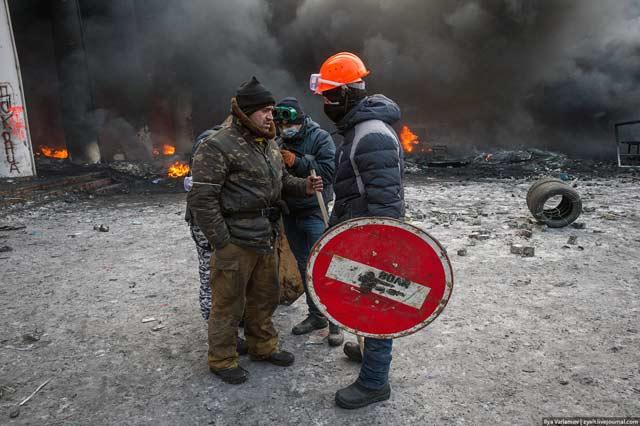Воините на протеста