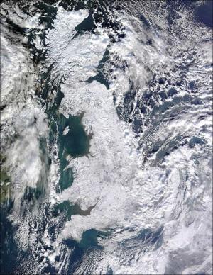 Великобритания замръзва