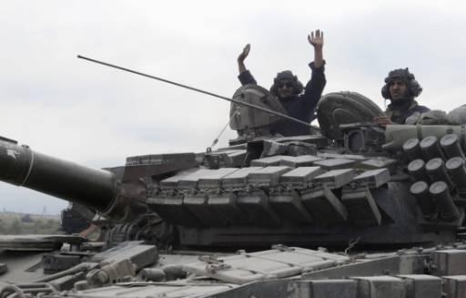 Грузия атакува Южна Осетия