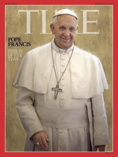 Папа Франциск - Личност на годината