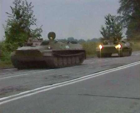 Руски войски навлязоха в Грузия