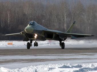 Русия показа изтребител пето поколение