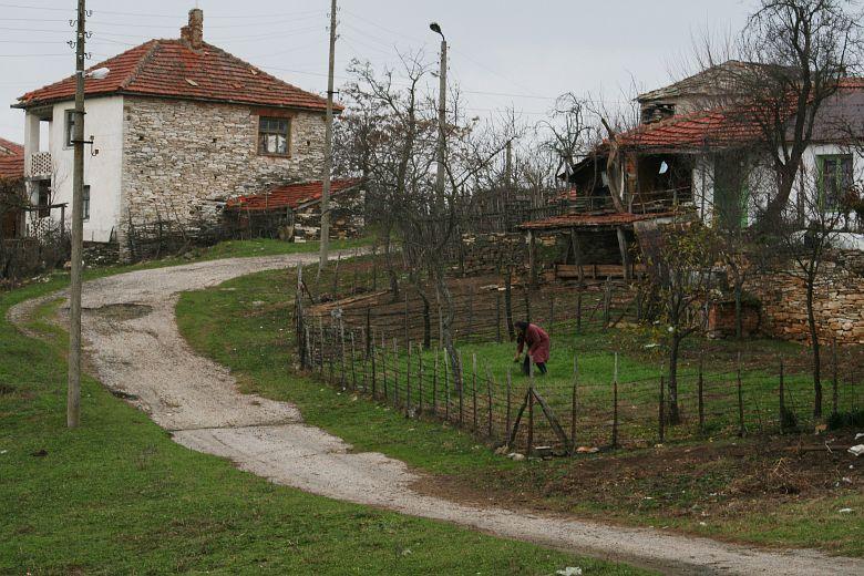 Село Ламбух се намира на няколко километра от гръцката граница. В него живеят не повече от 50-ина души. Снимки: Нели Томова