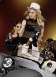 Мадона на концерт в Мюнхен по време на турнето си
