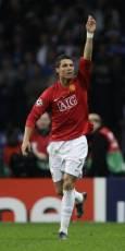 Роналдо след гола. Снимка: Ройтерс