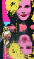Италианската дизайнерка Ана Молинар, една от основателките на модната къща