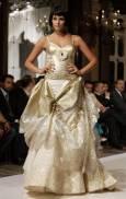 Модел от колекцията есен/зима на  дизайнера от Саудитска Арабия Шалки Ясем ал Ясем, на седмицата на висшата мода в Рим. Снимка: Ройтерс