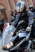 Мотористи протестират. Снимка: Нели Томова