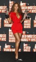 Бионсе спечели 2 награди - за най-добро видео на годината и за най-добра хореография. Снимка: Ройтерс